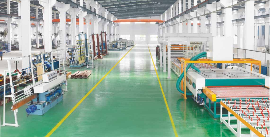 Automobile windshield line