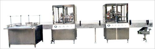aerosol filling production line